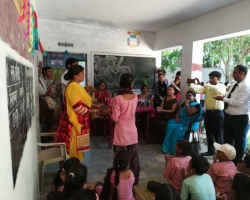 Visit to Village School